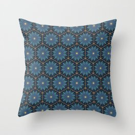 Among The Stars: Starry Night Throw Pillow