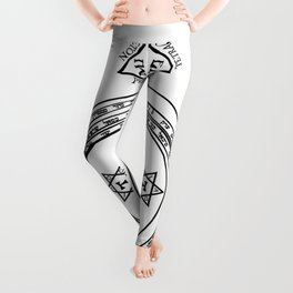 The Magical Circle and Triangle Leggings