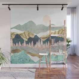 Summer Vista Wall Mural