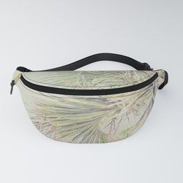 Green Palm Fanny Pack