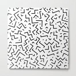 Memphis pattern 30 Metal Print