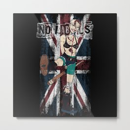 No Labels Metal Print
