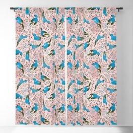 Birds in Spring Blackout Curtain