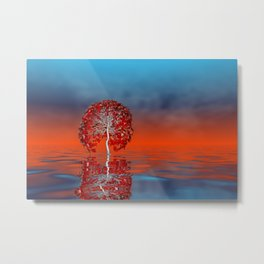 there was a tree -02- Metal Print