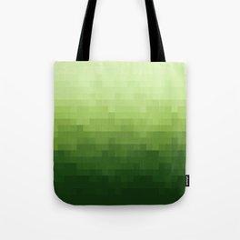 Gradient Pixel Green Umhängetasche