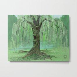 Old Man Willow Metal Print