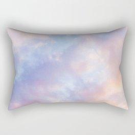 cotton candy clouds Rectangular Pillow