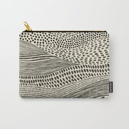 Hand Drawn Patterned Abstract II Carry-All Pouch