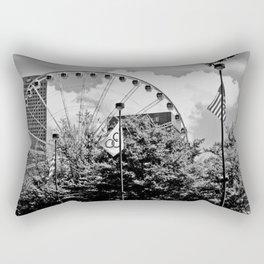 Ferris wheel in The Park Rectangular Pillow