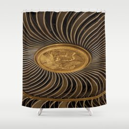 Rosace in #London Shower Curtain