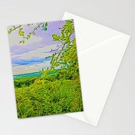 Parbold Hill (Digital Art) Stationery Cards