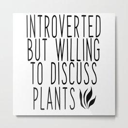 Plants Environment Metal Print
