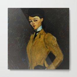 "Amedeo Modigliani ""L'Amazone"" Metal Print"