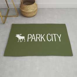 Utah: Park City Moose Rug