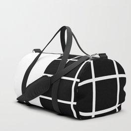 RETROWAVE (BLACK-WHITE) Duffle Bag