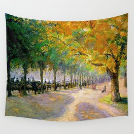 Hyde Park London 1890 By Camille Pissarro | Reproduction | Impressionism Painter Wall Tapestry