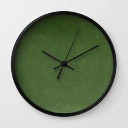 Sage Green Velvet texture Wall Clock