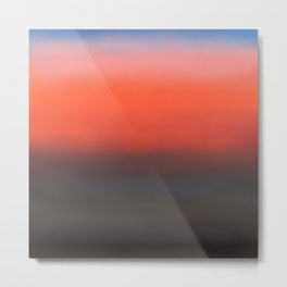 gradient sunset Metal Print
