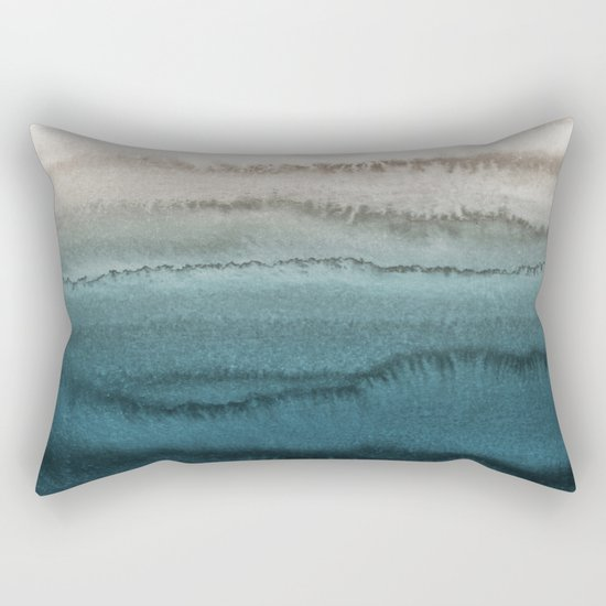 WITHIN THE TIDES - CRASHING WAVES TEAL by monikastrigel