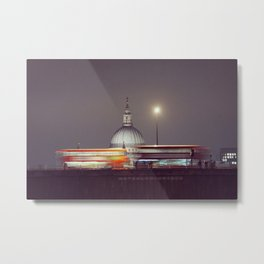Waterloo Bridge, London Metal Print
