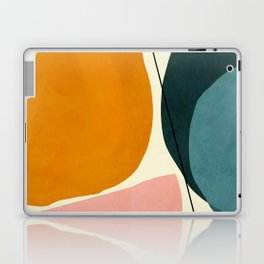 shapes geometric minimal painting abstract Laptop & iPad Skin
