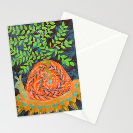 Love Blooms In Its Own Time Stationery Cards