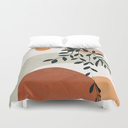 Soft Shapes I Duvet Cover