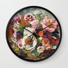 Tin Can Studios Floral 1 Wall Clock