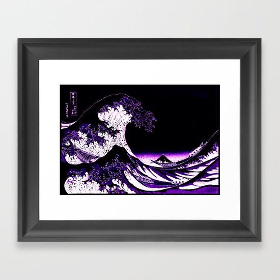 The Great Wave : Purple by purelove
