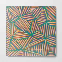 Triangular Metal Print