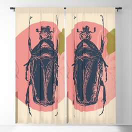 Blue Beetle Blackout Curtain