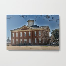 Cherokee Nation - Capitol in Tahlequah, No. 3 of 3 Metal Print