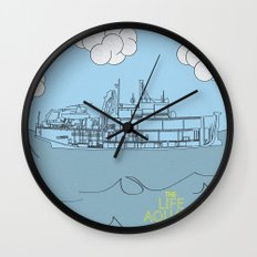Zissou Boat Wall Clock