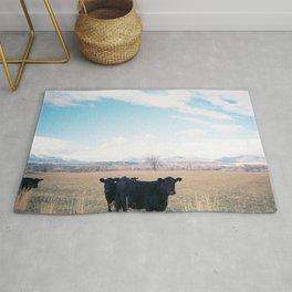 Cow Line Rug