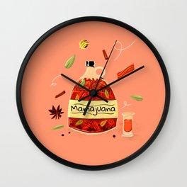 Mamajuana Wall Clock