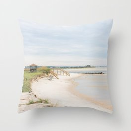 Pawleys Island, SC Beach Throw Pillow