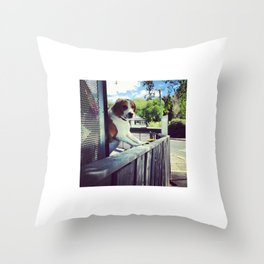 It's a Puppy Dog! Throw Pillow