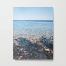 Tobermory Blue Waters Metal Print