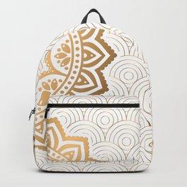 Gold Mandala 13 Backpack