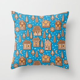 Cookie town Throw Pillow