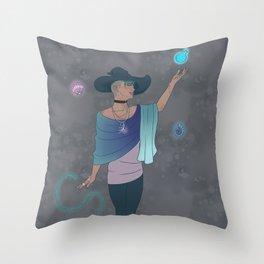 Sea Witch Magic Throw Pillow