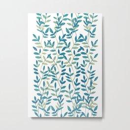 Leaves 6 Metal Print