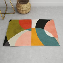 geometry shapes 3 Rug