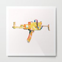 Shoot! Metal Print