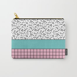 Memphis Pattern 33 / 80s - 90s Retro Carry-All Pouch
