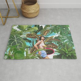 Plants are my real friends - Crazy plant lady part II Rug