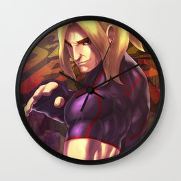 KEN SF V Wall Clock