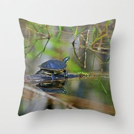 Baby Turtle Throw Pillow