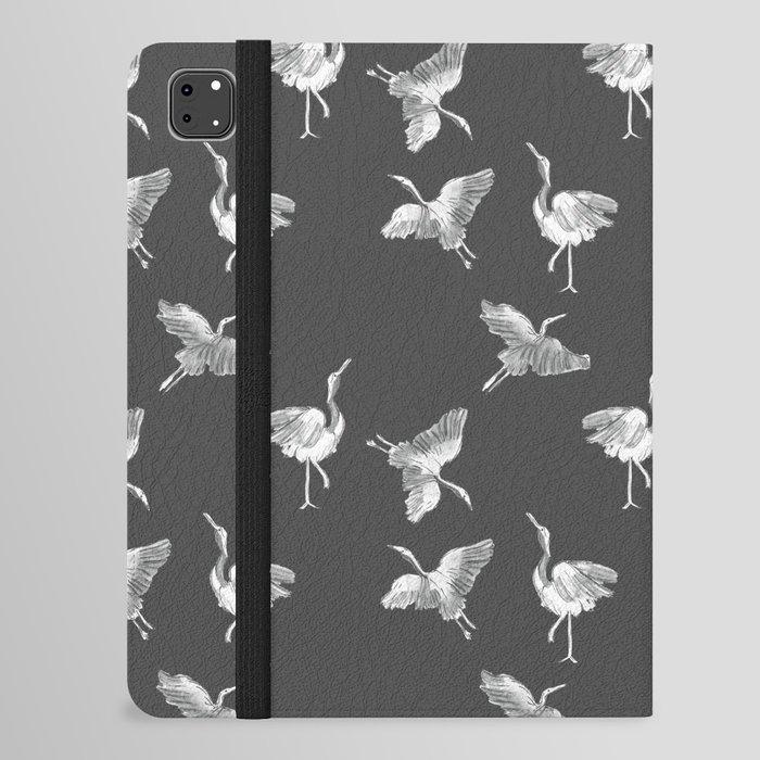 Cranes Pattern iPad Folio Case
