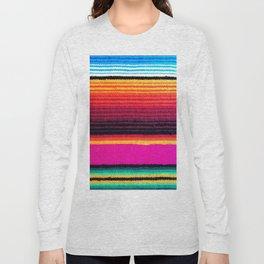 Magenta Sky Serape Long Sleeve T-shirt